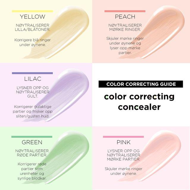 Creamy Color Correcting Concealer Green